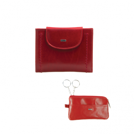 Amelot dámský mini set - peněženka a klíčenka